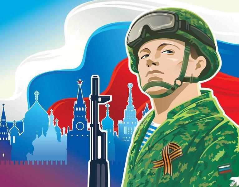 Всероссийский конкурс творческих работ «Защитники Родины моей!»
